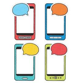 """Emoji Student Smartphones 6"""" Cut-Outs"""