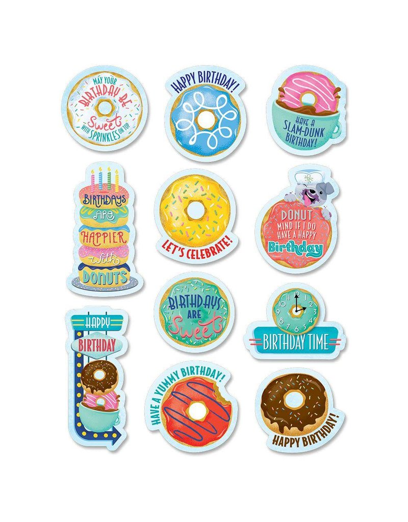 Birthday Donuts Stickers