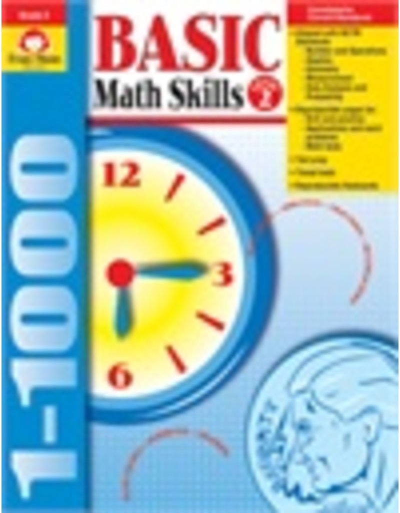 Basic Math Skills, Grade 2