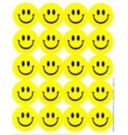 Lemon smiley face stickers