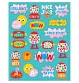 Bubble Gum Stickers