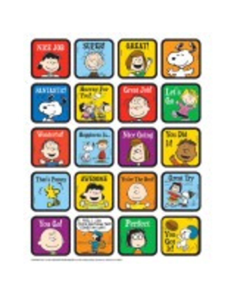 Peanuts Motivational Stickers