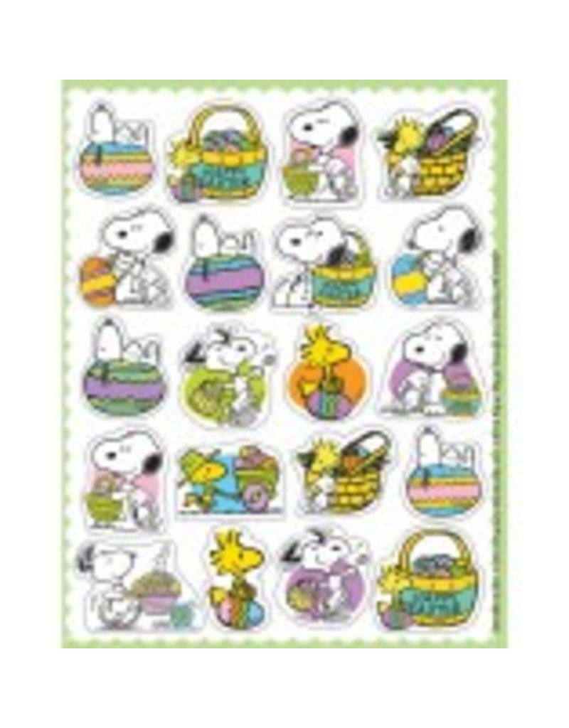 Peanuts Easter Stickers