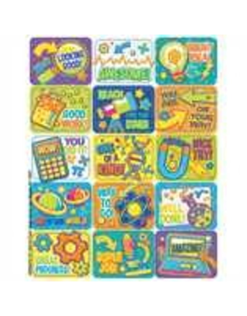 Color My World STEM stickers