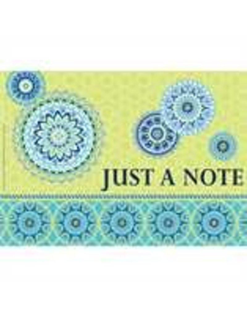 Blue Harmony Teacher Cards