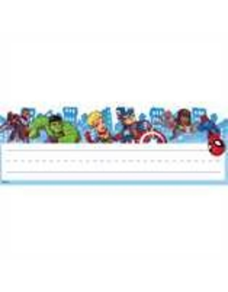 Marvel - Nameplates Self-Adhesive