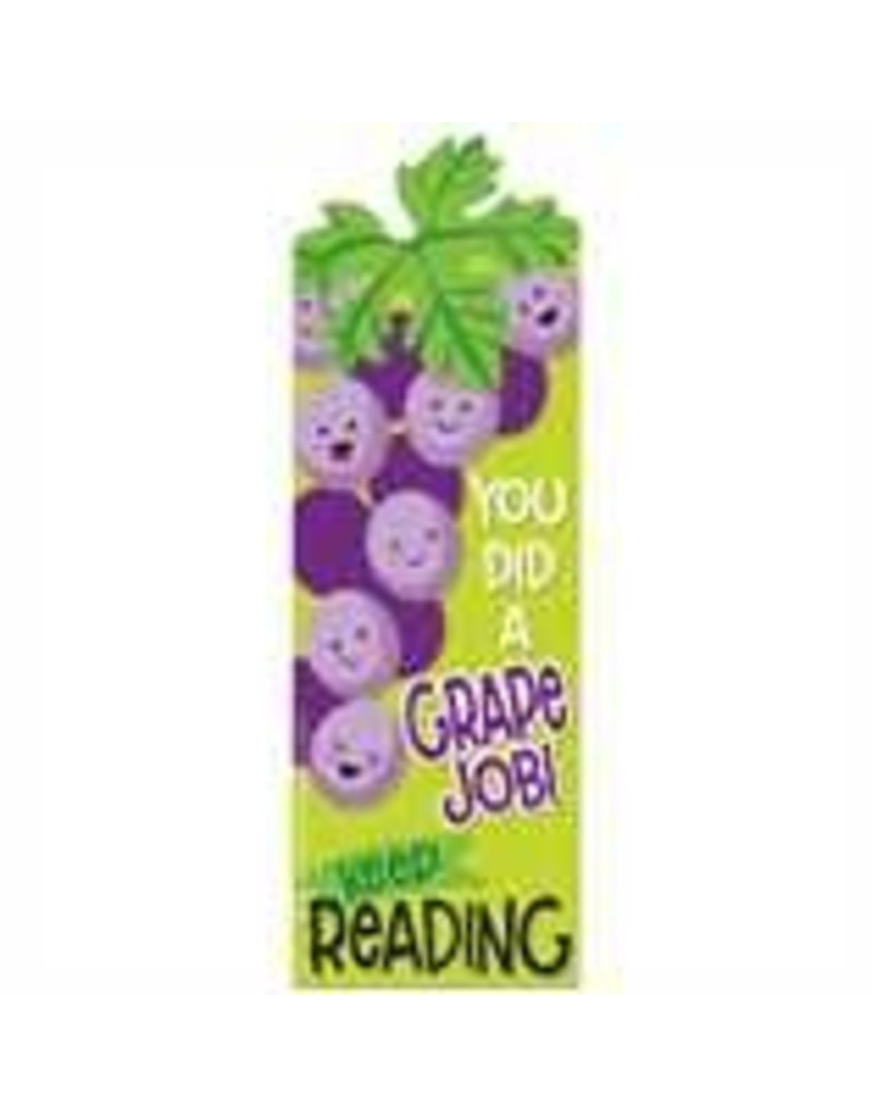 Grape Scented Bookmarks