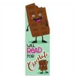 Chocolate Scented Bookmark