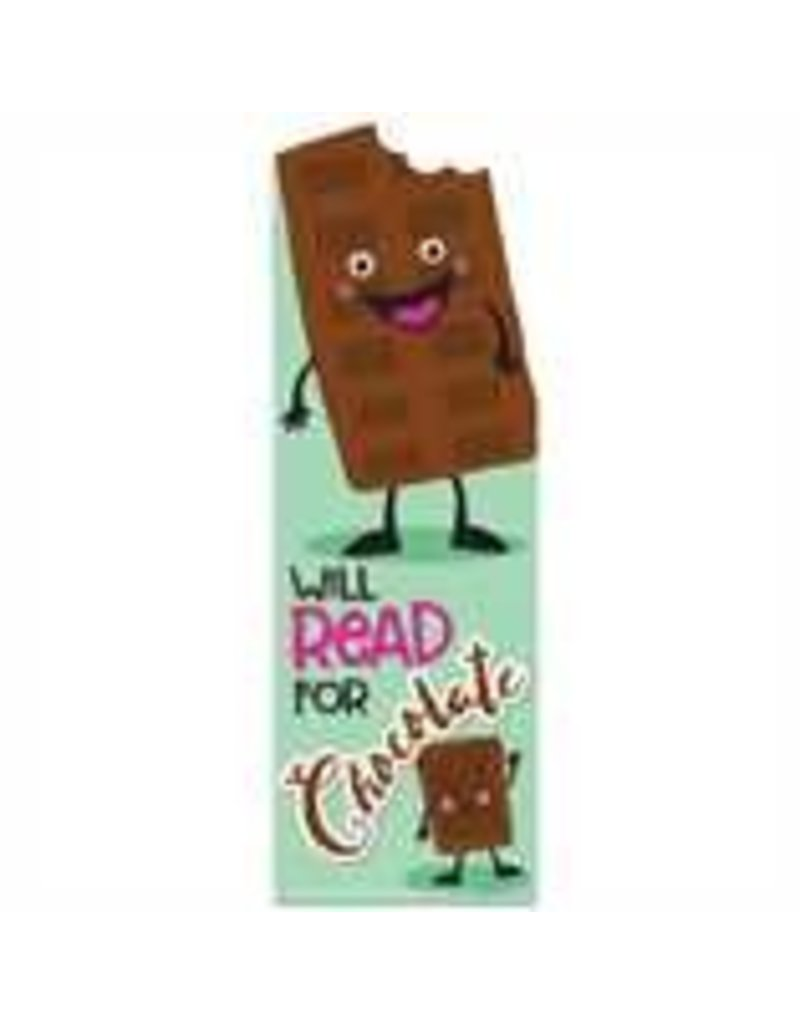 Chocolate Scented Bookmark