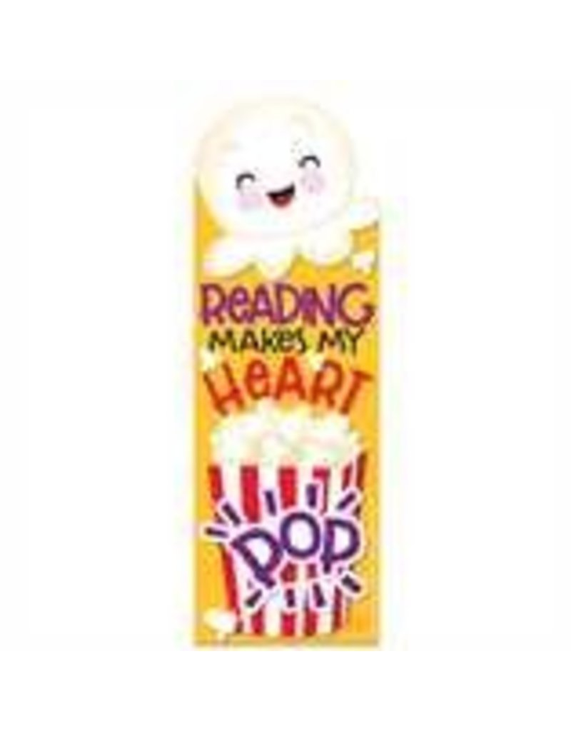 Popcorn Scented Bookmarks