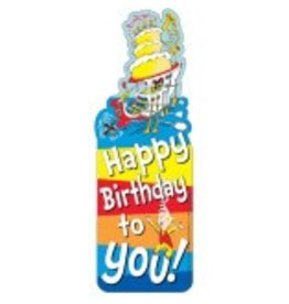 Dr. Seuss™ Happy Birthday Bookmark