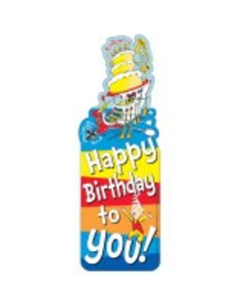 Dr. Seuss™ Happy Birthday Bookmark