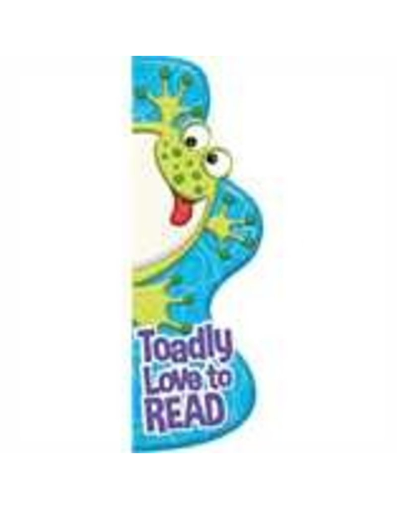 Color My World - Frog bookmarks