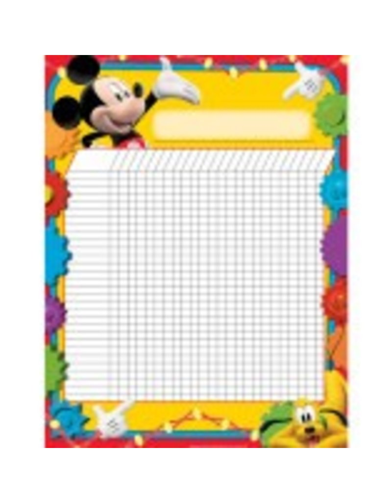 Mickey Mouse Clubhouse® Incentive Chart