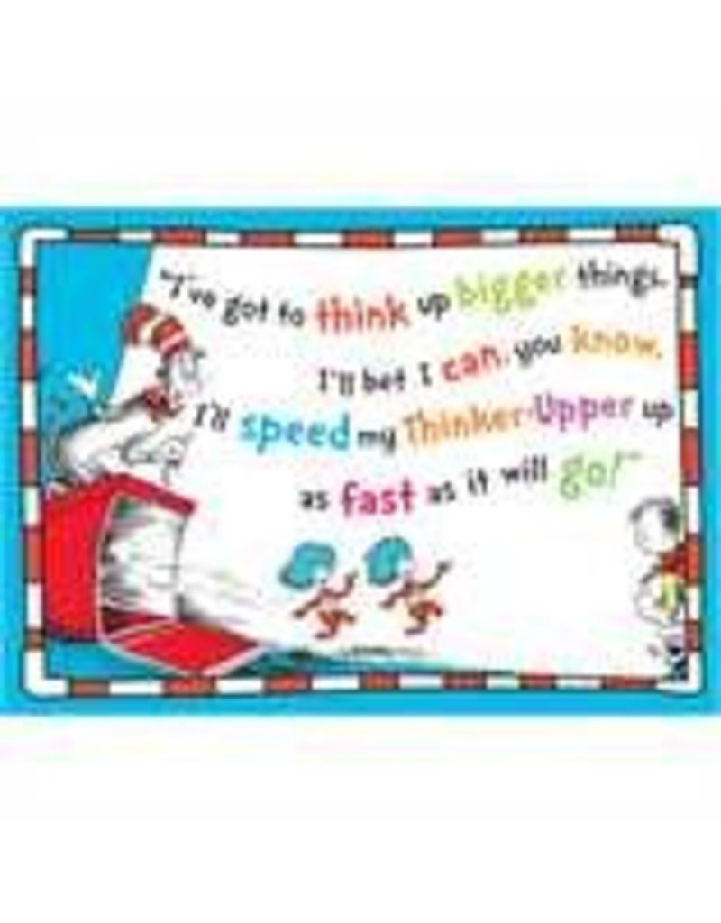 Dr. Seuss ™Think Bigger Poster