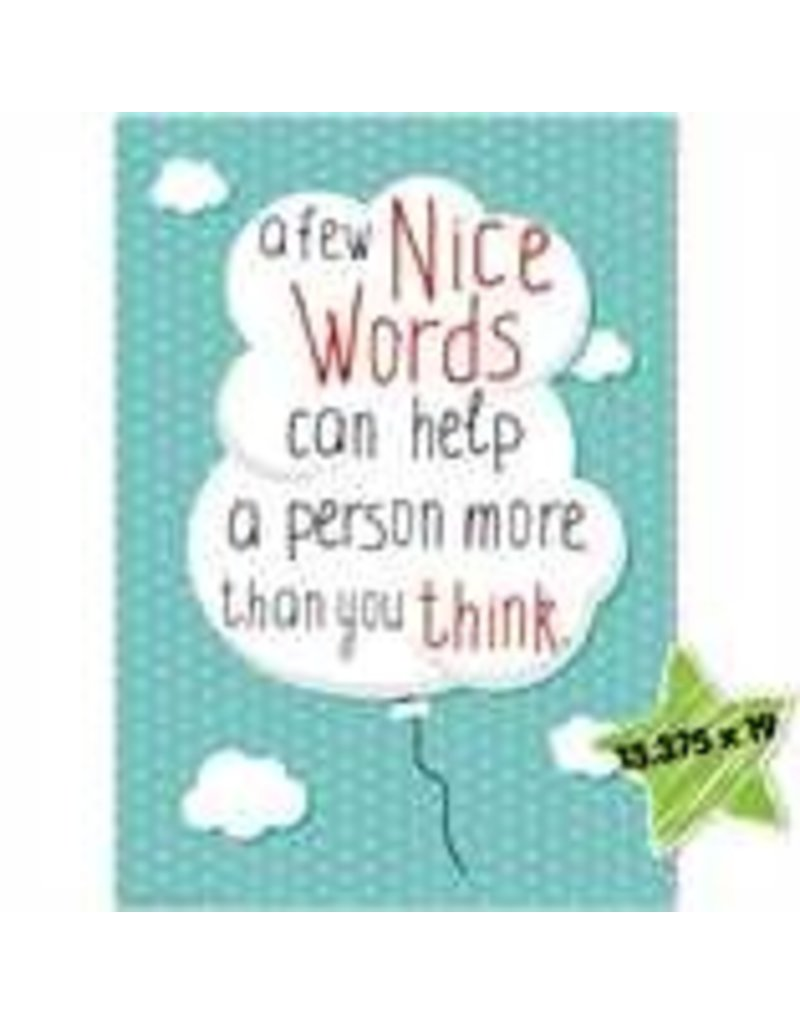 A Few Nice Words Poster