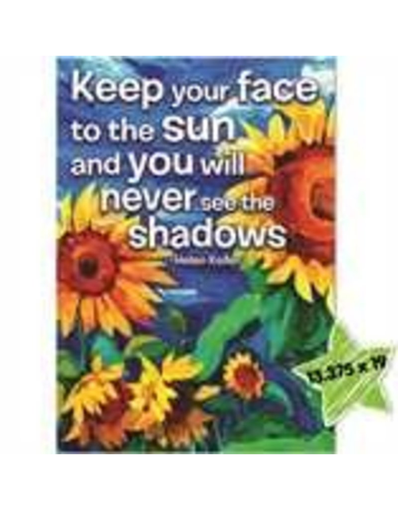 Keep Your Face To The Sun Poster