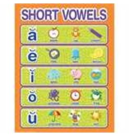Color My World Basic Learning - Short Vowels- chart