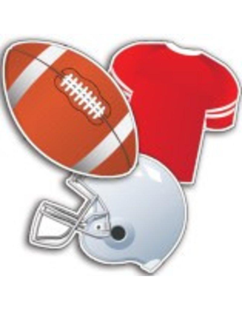 Football Asst. Cut-Outs