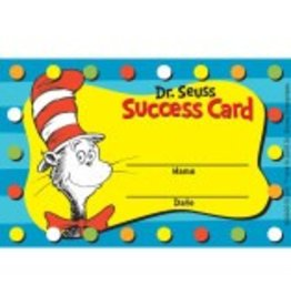 *Dr. Seuss™ Cat in the Hat Punch Card