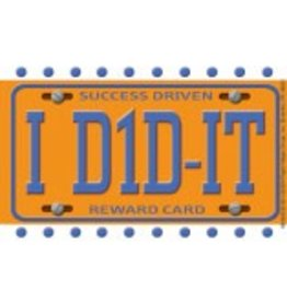 *I Did-It Motivational Punch Cards
