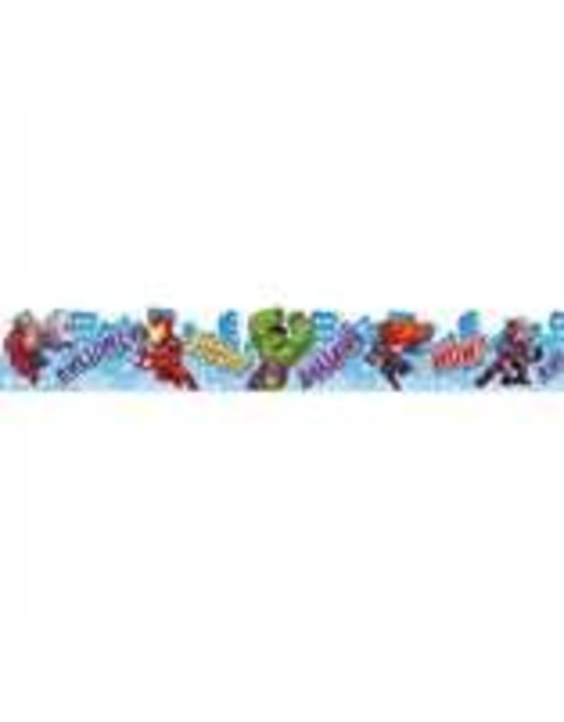 Marvel - City Scape Deco Trim Extra Wide