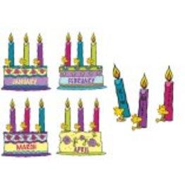 *Happy Birthday Bulletin Board Set (PEANUTS)
