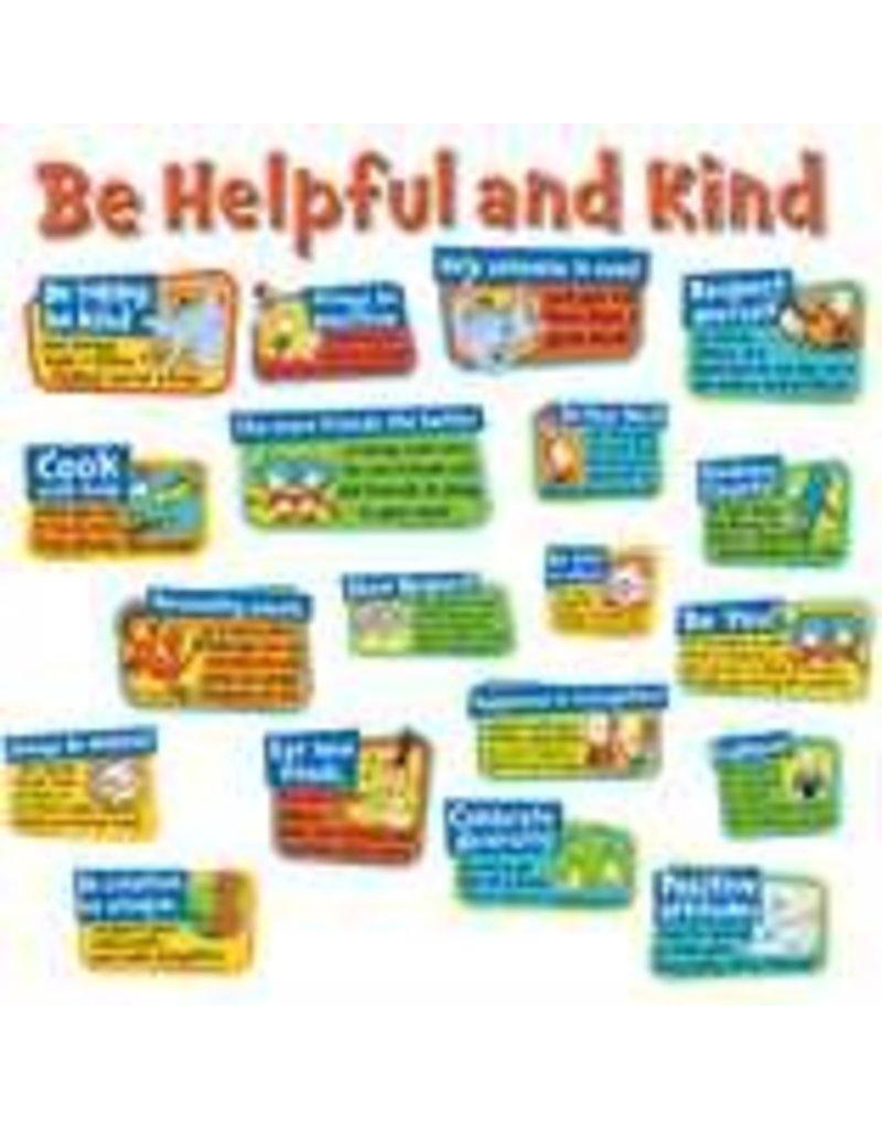 Dr. Seuss Be Kind and Helpful Bulletin Board Set