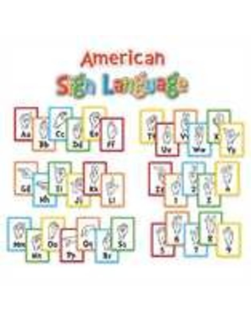 Dr. Seuss - Sign Language Alphabet