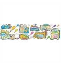 Oh the Places You'll Go!  Bulletin Board Set