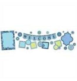 *Blue Harmony Welcome Bulletin Board Set