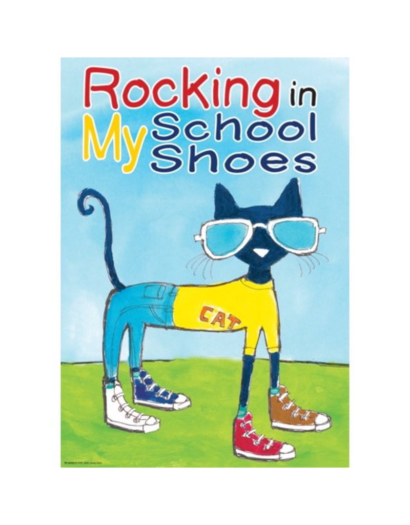 Rocking in My School Shoes Poster