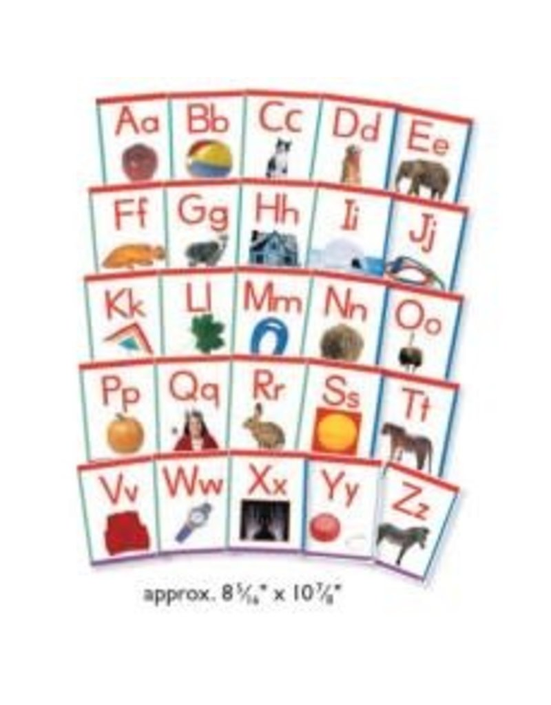 Alphabet Frieze Cards