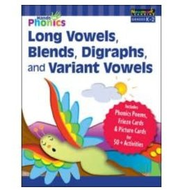Hands-on Phonics: Long Vowels, Blends, Digraphs, and Variant Vowels