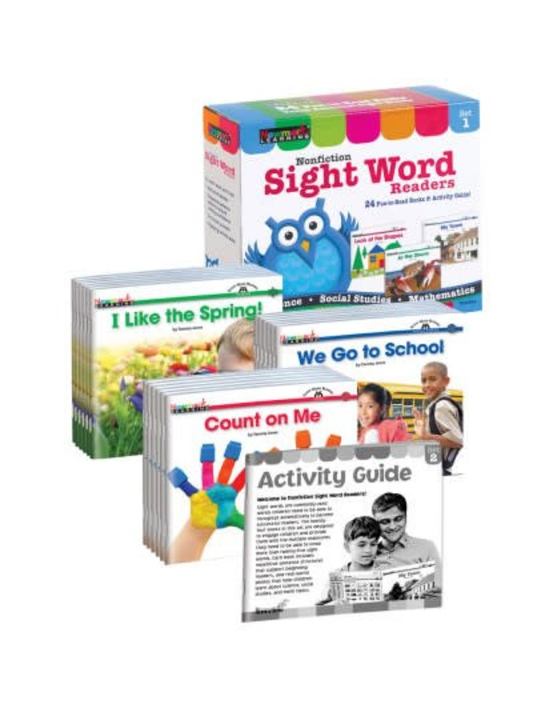 Nonfiction Sight Word Set 1 Readers