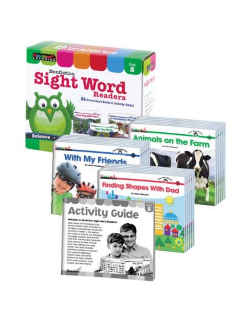 Nonfiction Sight Word Set 2 Readers