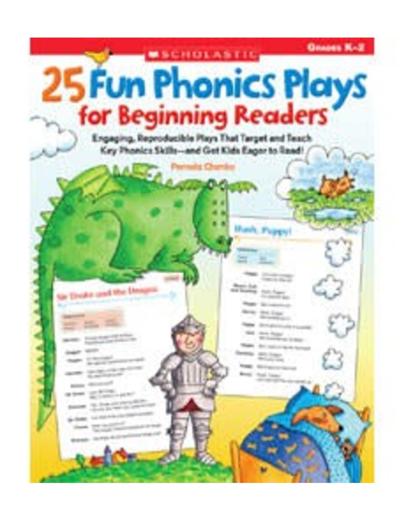 *25 Fun Phonics Plays for Beginning Readers