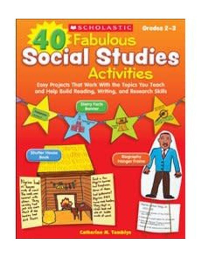 *40 Fabulous Social Studies Activities