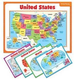Teaching Maps Bulletin Board