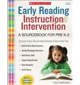 *Early Reading Instruction and Intervention: A Sourcebook for PreK-2
