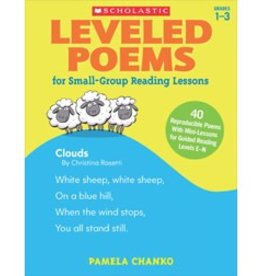 *Leveled Poems for Small-Group Reading Lessons