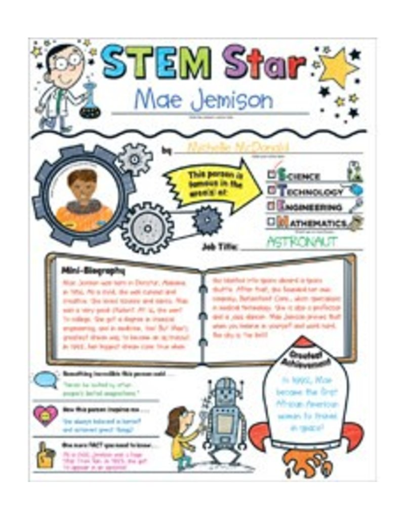 Personal Poster Set: STEM Star