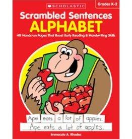 Scrambled Sentences: Alphabet