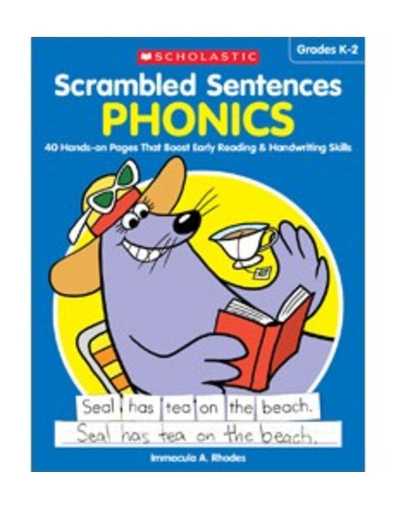 Scrambled Sentences: Phonics
