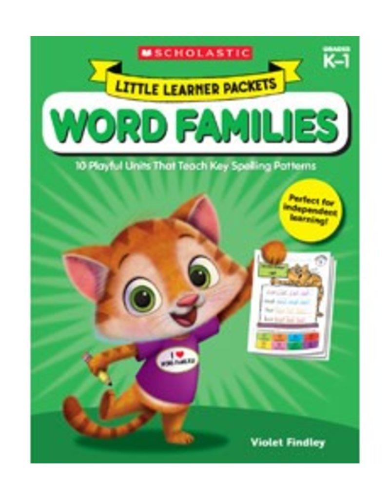 Little Learner: Word Families