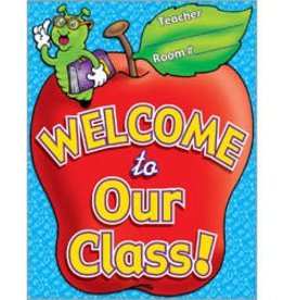 Welcome to Our Class Chart