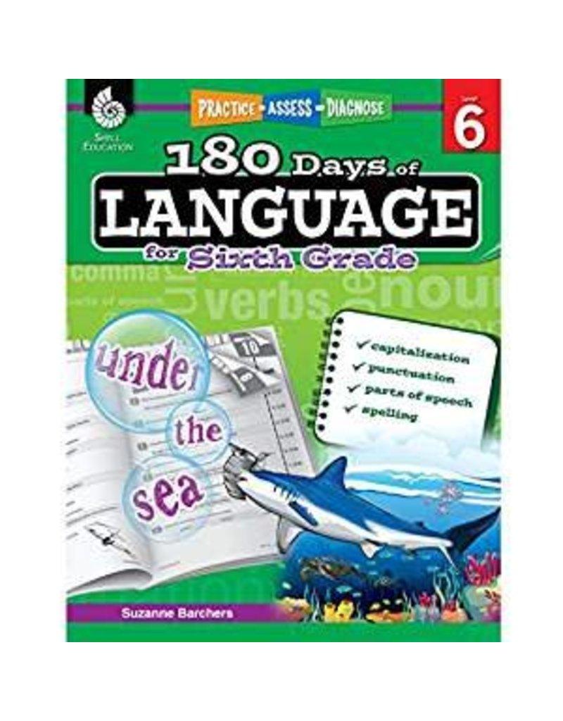 180 Days of Language Gr 6