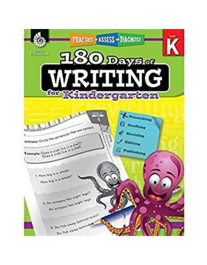 180 Days of Writing Gr K