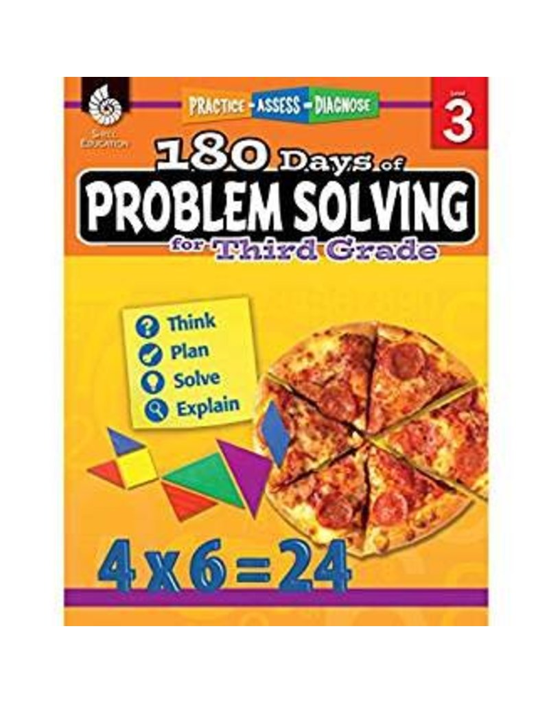 180 Days of Problem Solving Gr 3