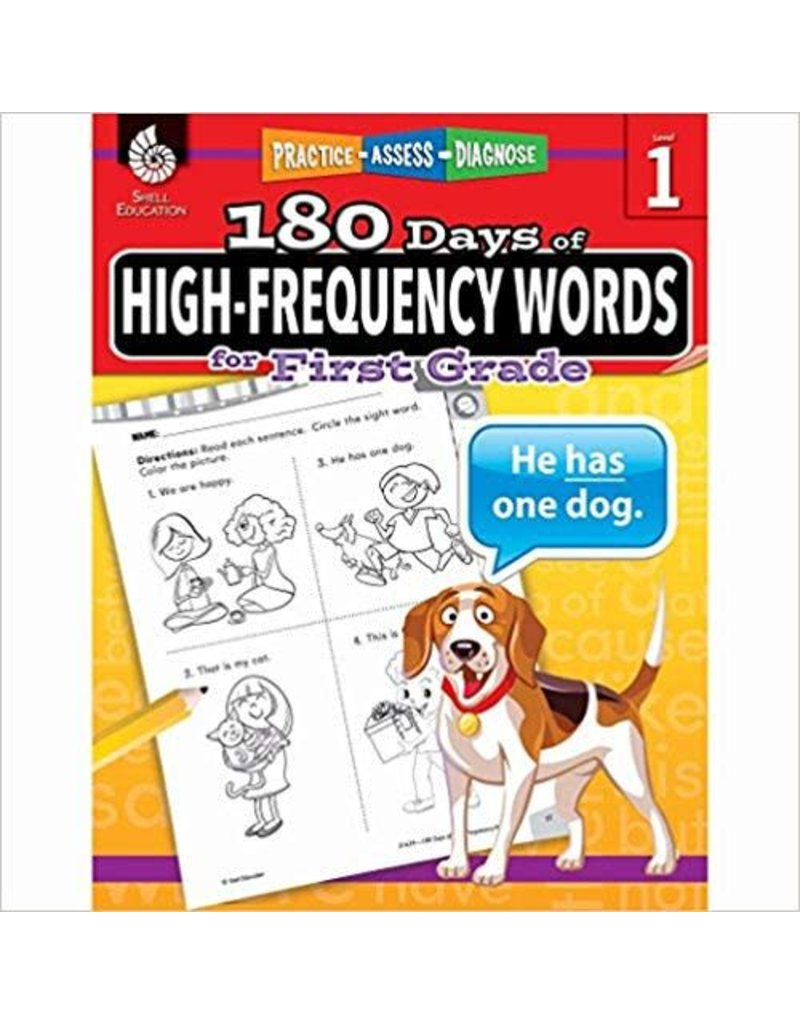 180 Days of High-Frequency Words Gr 1